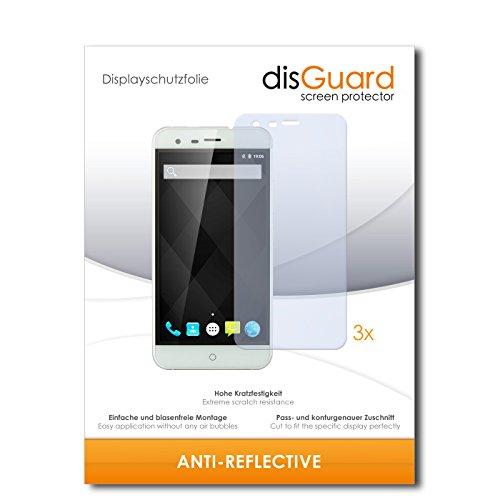 disGuard® Bildschirmschutzfolie [Anti-Reflex] kompatibel mit Ulefone Paris Arc HD [3 Stück] Entspiegelnd, Matt, Antireflektierend, Extrem Kratzfest, Anti-Fingerabdruck - Panzerglas Folie, Schutzfolie