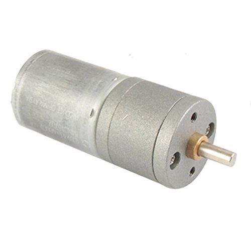 SODIAL(R) SODIAL(R) 12V DC 100RPM Haute torsion boite de vitesse Moteur electrique 25mm