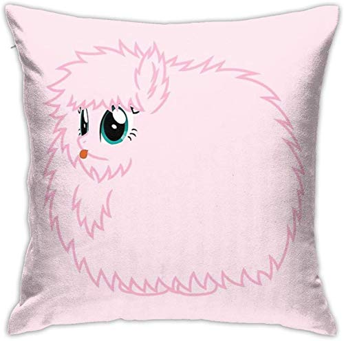 YAOAIAI Fluffle Puff Stare Square Pillow Home Bed Room Interior Decoration
