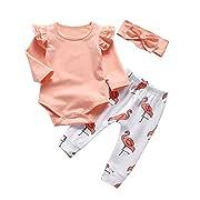 Rosie Pope Baby Girls Flamingo Bubble Short