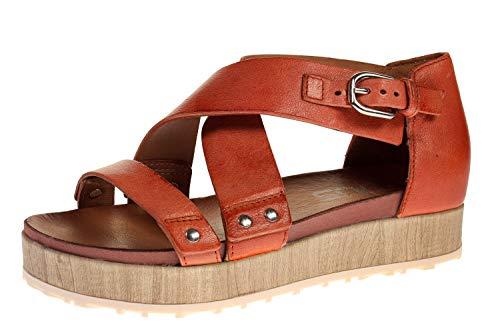 Mjus M06016-101-0001 - Damen Schuhe Sandaletten - Canella-beige, Größe:40 EU