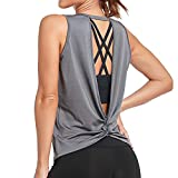 Sylanfia Yoga Camiseta sin Mangas Camisas para Mujer Deportiva Yoga Running Chaleco para Entrenamiento Fitness Tops Pijama Dormir