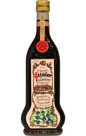Ettaler Kloster Liqueur Heidelbeer Original 25 % 0,5 ltr.