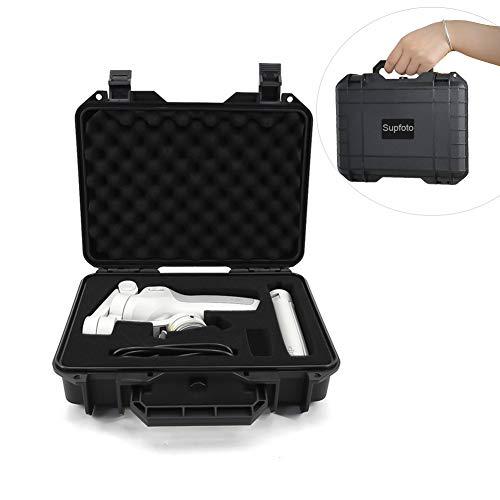 Supfoto Étui de transport pour DJI OM4/OSMO Mobile 3 - Coque rigide étanche pour DJI Osmo Mobile 3/OM 4 - Boîte de rangement étanche avec insert en mousse