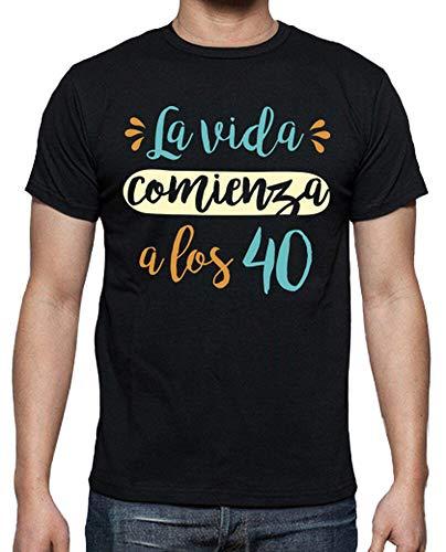 latostadora - Camiseta la Vida Comienza para Hombre