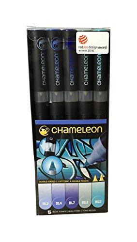 Chameleon Pens - 5er Set - Blue Tones
