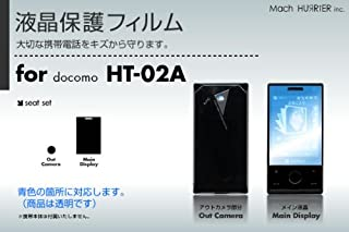 docomo HT-02A 液晶保護フィルム 3台分セット