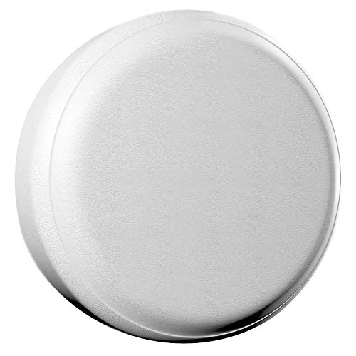 """AmFor Spare Tire Cover, Universal Fit for Jeep, Trailer, RV, SUV, Truck and Many Vehicle, Wheel Diameter 28"""" - 29"""", Weatherproof Tire Protectors (White)"""