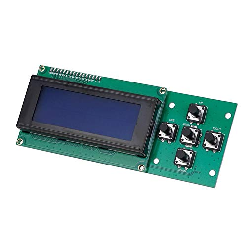 LIZONGFQ Zhang Asia 2.0 Mainboard PCB ATMEGA 1284P P802M Motherboard X3A XY-100 Controller+Melzi 2.0 2004LCD Fit For Tronxy 3D Printer DIY Parts (Size : Only 2004LCD)