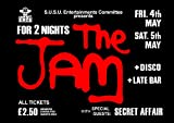 Reproducción Alternate 'The Jam - Sheffield' Póster A2, 59,4 x 42 cm