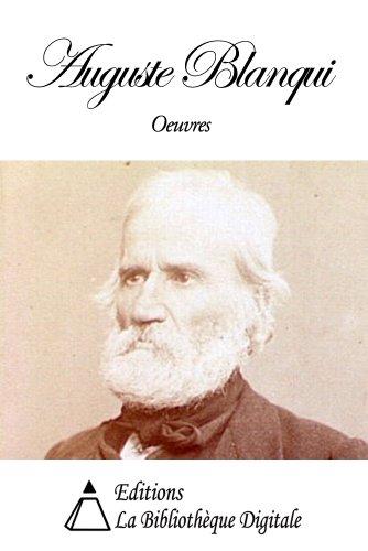 Oeuvres de Louis Auguste Blanqui