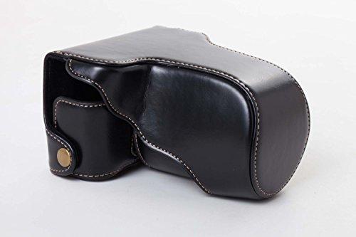 vhbw cámara-Bolsa Negro para Fuji/Fujifilm XA3