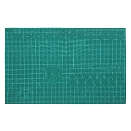MASUNN A1 DIY zelfgenezende snijmat Professionele dubbelzijdige flexibele stof roterende mat