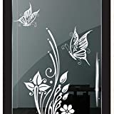 DD Dotzler Design 2111-2 Milchglas-Folie Fenster-Folie Klebe-Folie Glas-Dekorfolie Fenster-Aufkleber...