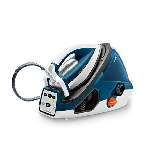 Tefal GV785 GV7850 Dampfbügelstation, Kunststoff, 1.6 liters, Blau, Weiß