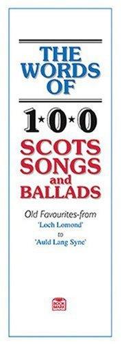 The Words Of 100Guardia Songs And Ballads. Para Solo Texto, acompañado de piano