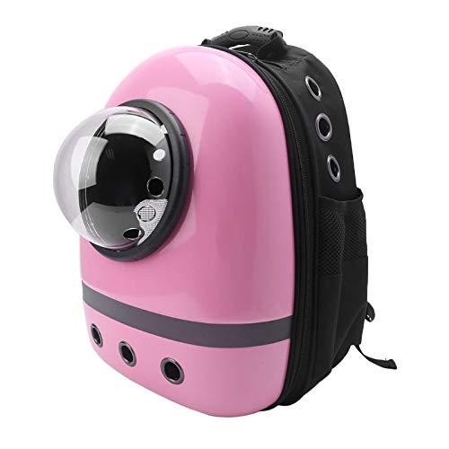 KSIASGDHA Multifunktions Atmungsaktiv und Bequem Haustierzubehör Tr?ger Atmungsaktive Reisetasche Space Capsule Backpack Rucksack