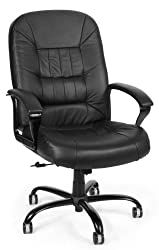 OFM 400 LB Leather Computer Chair