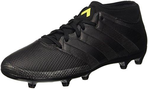 adidas Ace 16.3 Primemesh FG/AG, Botas de fútbol Hombre, (Core Black/Core Black/Solar Yellow), 41 1/3 EU