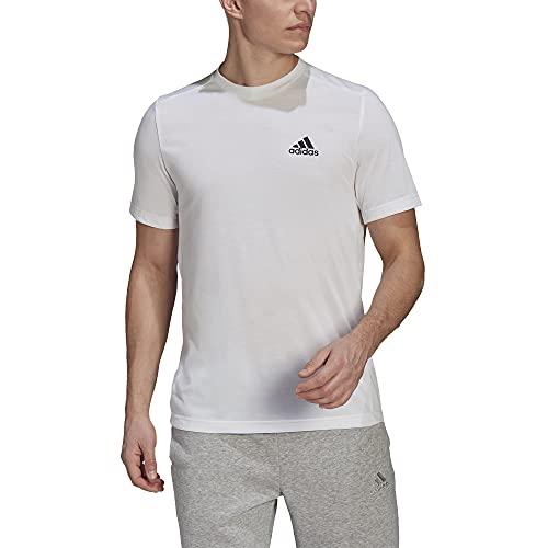 adidas mens FR Tee White/Black XX-Large