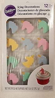 unicorn icing decorations