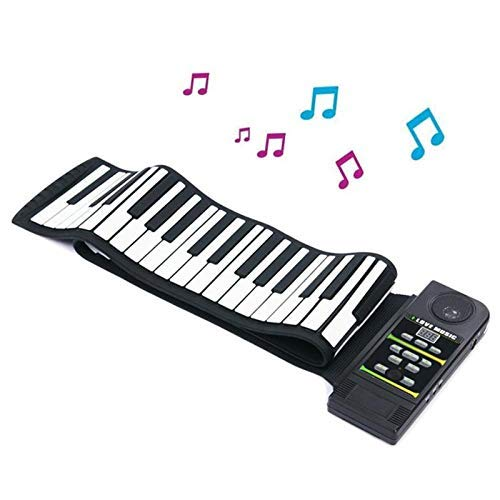 Review Of ZXL 88 Keys Hand Roll Piano, Silicone Flexible Digital Hand Roll up Piano Soft Portable El...