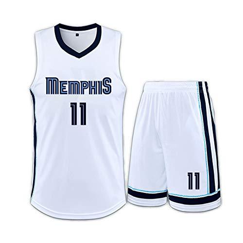Camiseta de baloncesto para hombre, camiseta Morant 12 Conley 11 Swingman, para ropa de entrenamiento del juego Grizzlie, trajes de baloncesto para niños y niñas, chalecos deportivos, camisetas sin