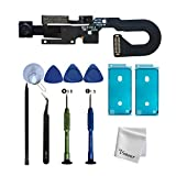 Vimour OEM Front Camera Replacement for iPhone 8 4.7 inch Model (A1863, A1905 and A1906),Microphone Replacement,Proximity Light Sensor Flex Cable Ribbon Assembly with Repair Tools