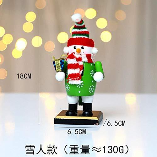Tony plate Natale Natale Pupazzo di Neve Pupazzo Pinguino pasticcere Babbo Natale Decorazione Desktop Bambola-Pupazzo di Neve