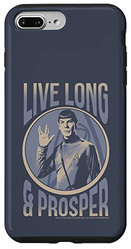 iPhone 7 Plus/8 Plus Star Trek: The Original Series Spock Live Long & Prosper Case