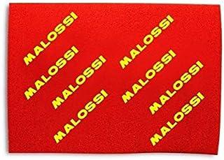 Foglio Malossi. Filtro aria A3 40 x 30 cm, doppio spugna rossa, spessore 16 mm