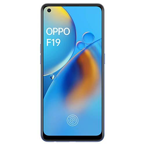 Oppo F19 (Midnight Blue, 6GB RAM, 128GB Storage) - 6.43' Inch AMOLED Punch-Hole Display | in-Display Fingerprint 3.0 | 5000 mAh...