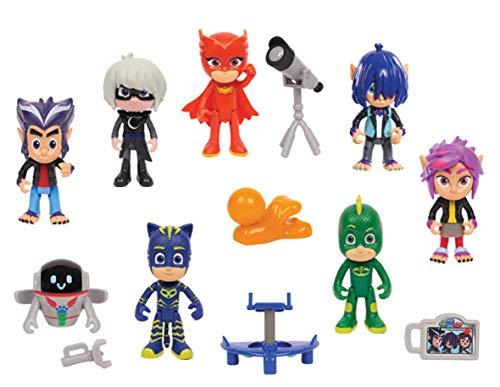 PJ Masks Juego de Figuras 14 Piezas
