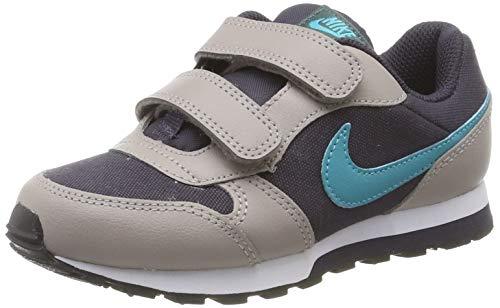 Nike MD Runner 2 (PSV), Zapatillas para Niños, Gris (Gridiron/Teal Nebula/Pumice/Faded Spruce 017), 31 EU