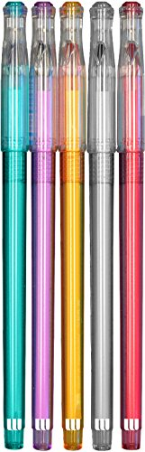 The Write Dudes 5ct Ultra Fine Gel Pens .5mm