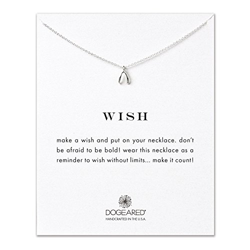Dogeared Wish Sterling Silver Necklace