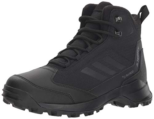 adidas Men's Terrex Heron MID CW CP, Black/Black/Black, 12.5 D US