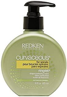 Redken Curvaceous Ringlet Anti-Frizz Perfecting Hair Treatment Lotion, 6 oz (Pack of 3)