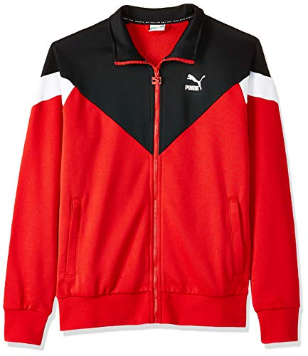 Puma Iconic MCS Track JKT Veste Homme High Risk Red FR : M (Taille Fabricant : M)