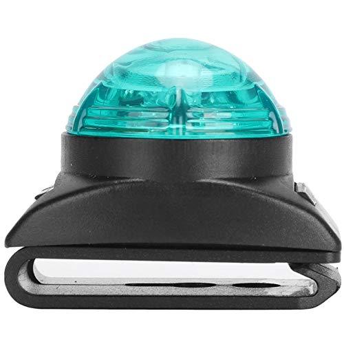 01 Luz LED para Cuello, luz Colgante LED para Mascotas de Alto Brillo Luz LED para Mascotas con diseño de Hebilla para la Noche(Green Light)