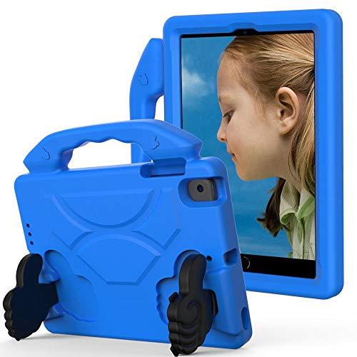 Case For ipad mini 4 Kids cover for ipad mini 5 2019 shock proof EVA foam Hand-held Stand Cover for ipad mini 2/3-Blue_iPad mini 12345
