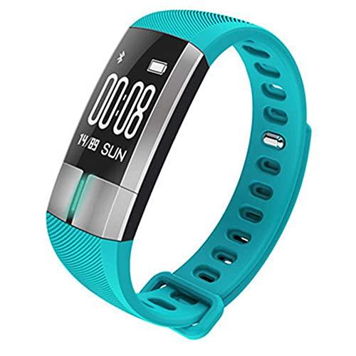 ZHBH Fitness Sleep Rastreador a Prueba de Agua Pantalla táctil Smartwatch Bluetooth, Monitor Actividad Podómetro Pulsera Inteligente Rastreador de Reloj de Ejercicio con recordatorio de Llamada S