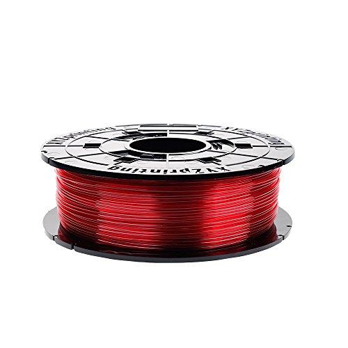 XYZprinting RFPETXEU01G Filamento Cartucho, 600 g, Rojo Claro