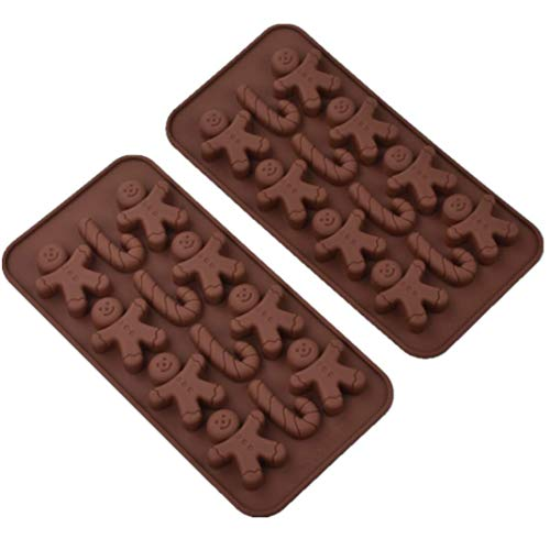 Ensemble de 2 moules à gâteau en Silicone, Moule à Chocolat
