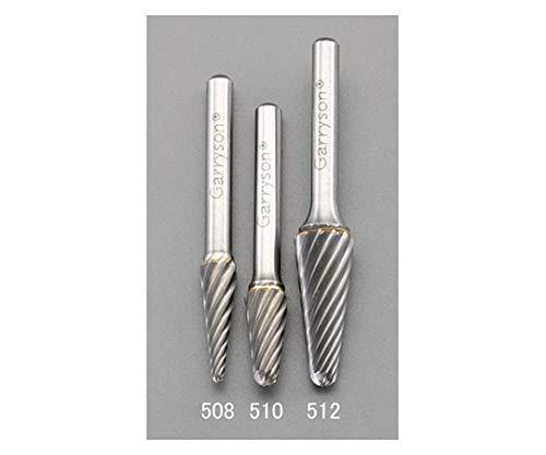 ESCO エスコ (快削)12x30mm/6mm軸超硬カッター(ステンレス用) EA819JC-512