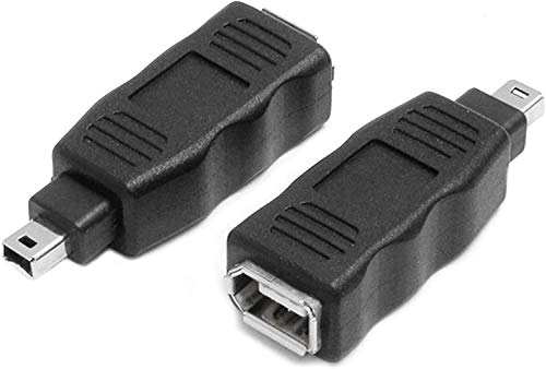 CablesOnline 6-Pin Female to 4-Pin Male IEEE-1394a Firewire Adapter, AD-FW2