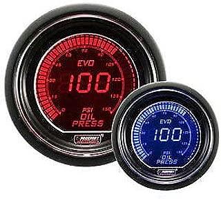 Oil Pressure Gauge- EVO Series Red and Blue Digital 52mm (2 1/16