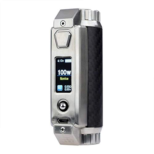 SXmini SL Class MOD 100 W, Riccardo e-Zigarette - Akkuträger, carbon fiber (Carbonfaser)