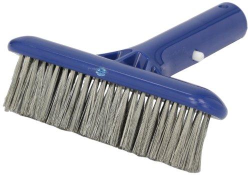 Pentair R500012 410 Molded Back Stainless Steel Algae Brush for Plaster, Concrete and Gunite Pools, 6-Inch