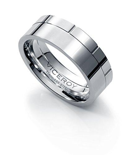 Viceroy 6359A02600 - Anillo de acero para hombre